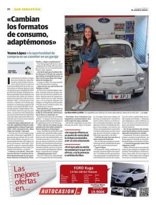 Entrevista de Begoña Del Teso