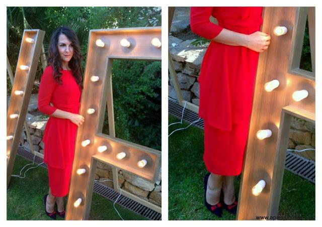 5-Vestido rojo